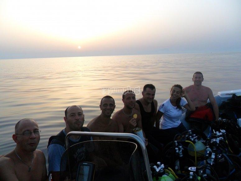Prima delle immersioni