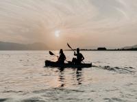 1 hour canoe rental in the Gulf of Castellammare