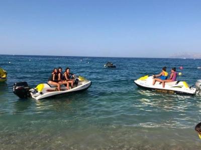 Jet ski without a license Guidaloca beach 15m