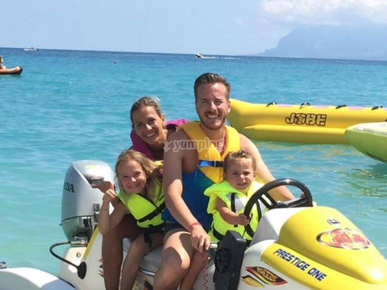 rent a jet ski with your family