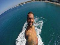 Selfie sulla flyboard