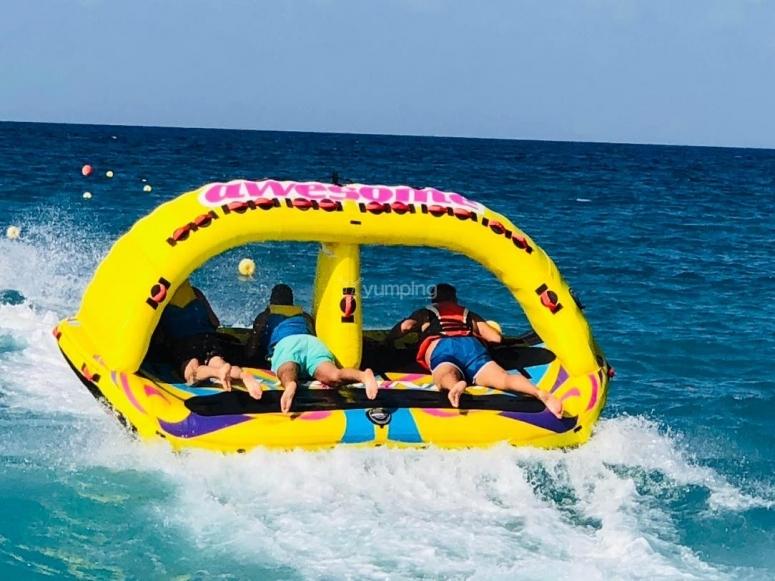 Giochi acquatici a Castellammare del Golfo