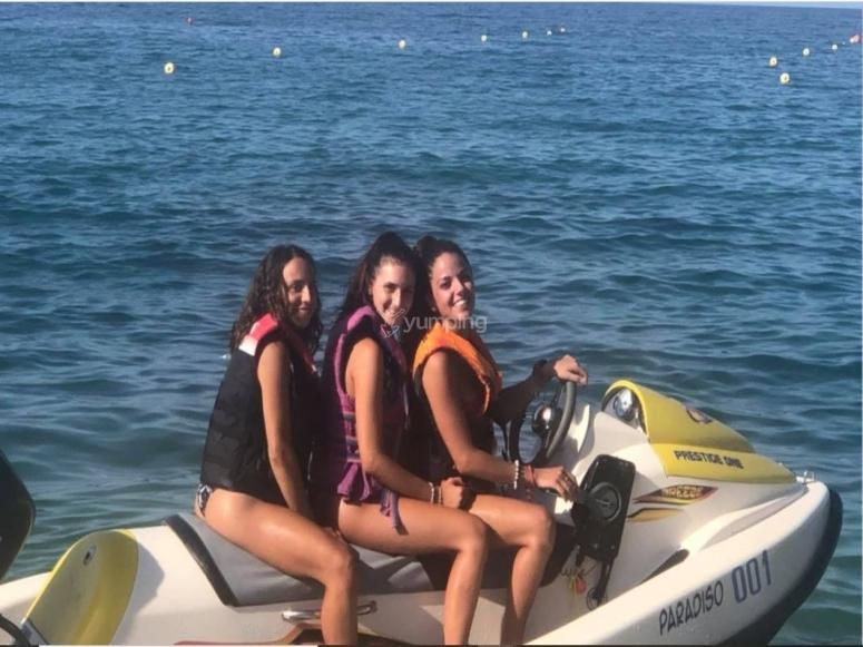Jet skis in company