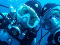 Selfie subacqueo