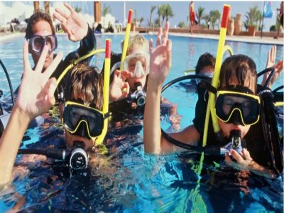 Junior Open Water Course in the Gulf of Genoa 14 hours