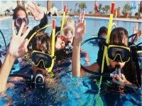 Diving course for children