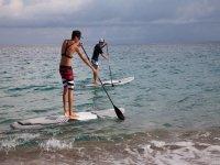 Ecco il paddle surf