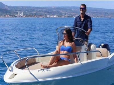 Noleggio barca senza patente Costa degli Dei 8 ore