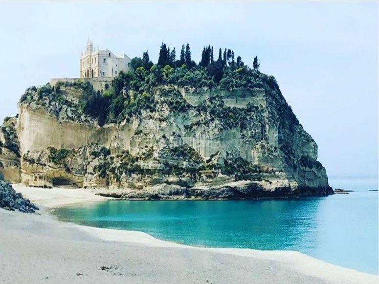 Dalla spiaggia di Tropea