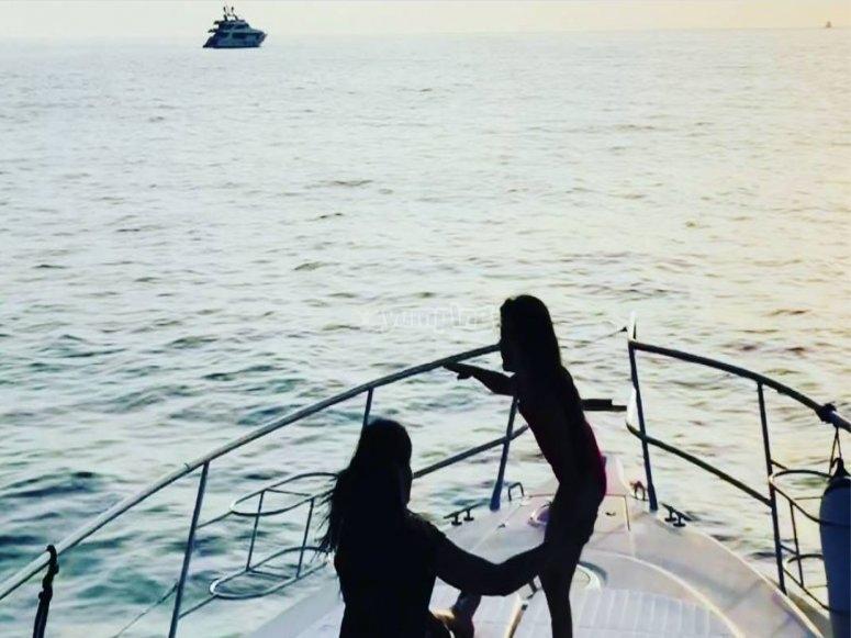 Piccoli naviganti a bordo