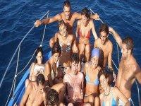 Divertirsi in barca