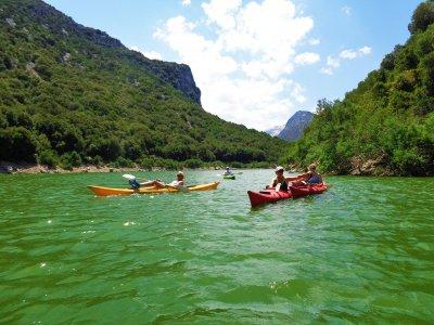 Tour in kayak sul Fiume Cedrino di 4 ore