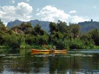Tour in kayak sul Fiume Coghinas di 4 ore