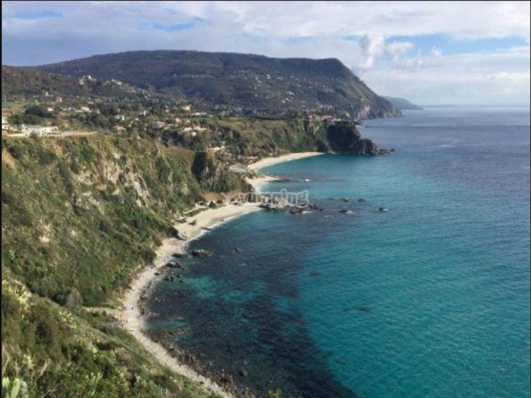 Quad tour in Calabria