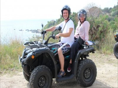 Tour in quad biposto a Capo Vaticano 2 ore