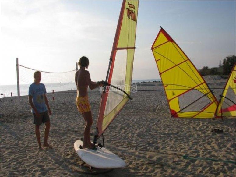 Preparation ashore