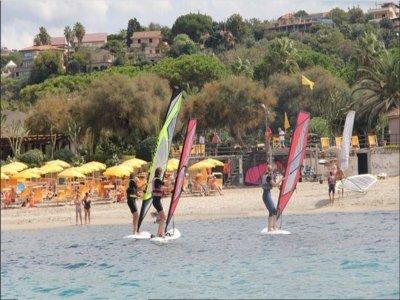 Corso base di windsurf sulla Costa degli Dei 3 ore