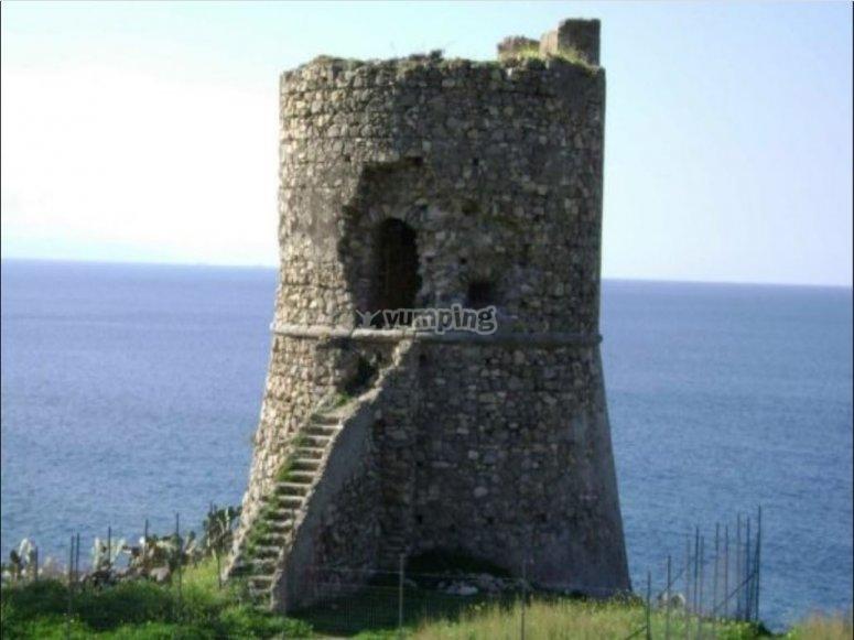 The Saracen tower of Joppolo