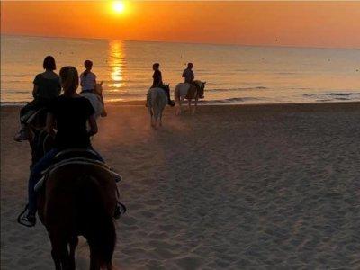 Tour a cavallo al tramonto sul Gargano 1 ora e 30