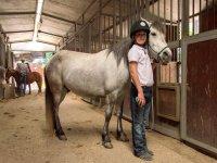 bambino e cavallo