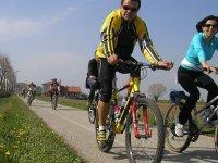 All by bike