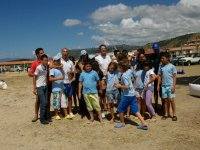Windsurfing during summer camps