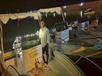 Cenetta romantica a bordo
