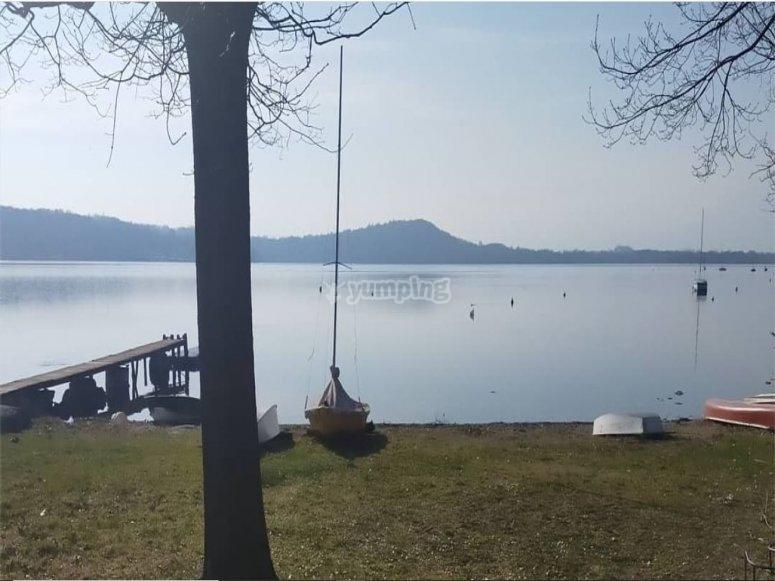 Viste sul lago