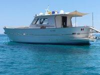 Una vista della barca