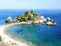 Ecco il mare di Taormina