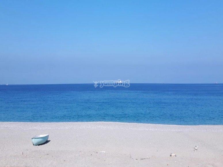Blue sea of Calabria