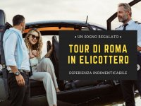 Rome helicopter tour