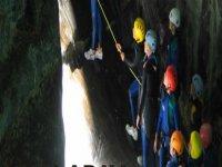 Approccio al canyoning