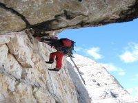 Alpinismo club roccia