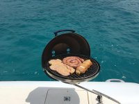 Delicious grills on board