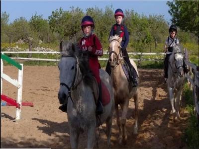 Cinque lezioni di equitazione a Noto di 1 ora