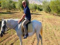 Passeggiata a cavallo campagna di Noto di 2 ore
