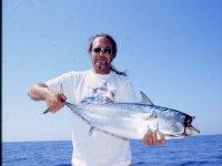 Un tonno alletterato di quasi 10 kg