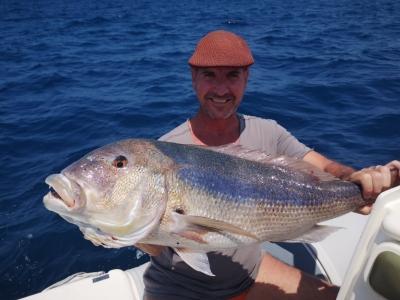 Charter di pesca a Palermo di 8 ore.