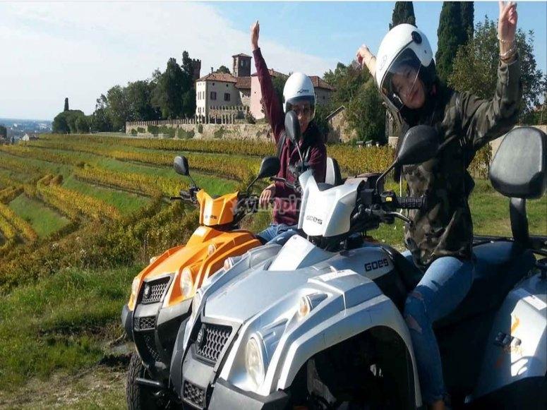 Excursion en quad Frioul-Vénétie Julienne