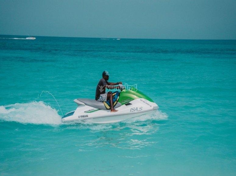 Beaux jet-skis