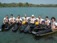 Squadra di canoa polo