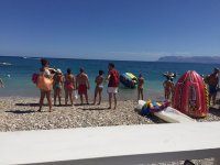 On the beach of Excursions Paradiso