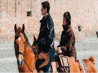 In the saddle in Varese