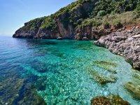The crystalline sea at the Riserva dello Zingaro