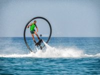 Flyboard on the beach