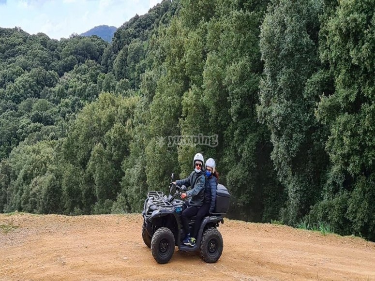 Discovering the south of Sardinia by quad