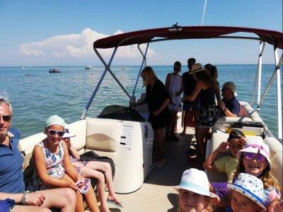 Excursion en bateau pour les enfants à Litoranea Veneta 2 h