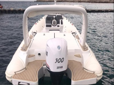 Dinghy rental with license Gulf of Palermo 8h