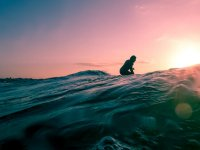 waiting for the perfect wave